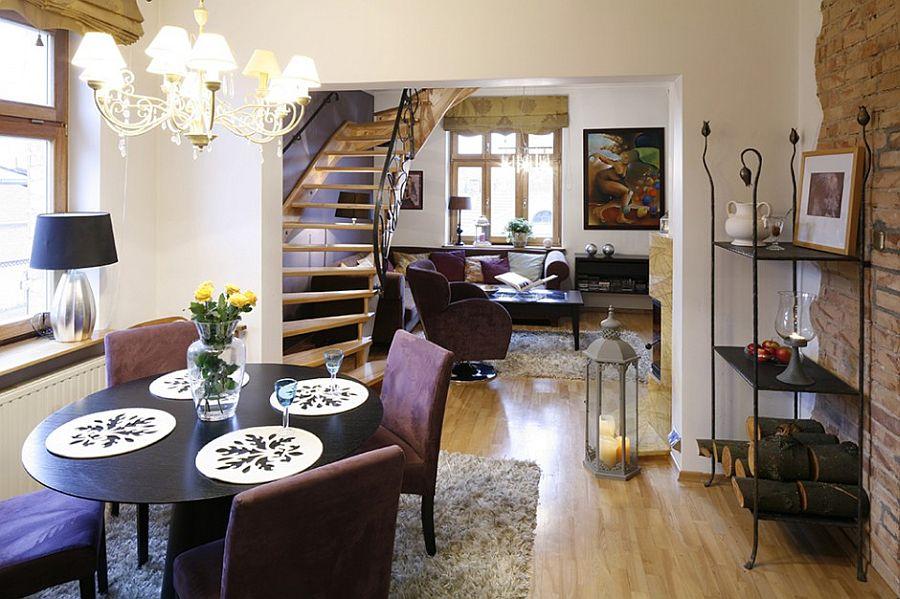 adelaparvu.com despre casa moderna cu piese de mobila clasice, Foto Urzadzamy (6)