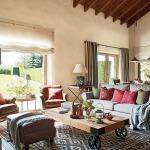 adelaparvu.com despre casa rustica cu elemente industriale, design interior Elena Lopez Balselles, Foto ElMueble (1)