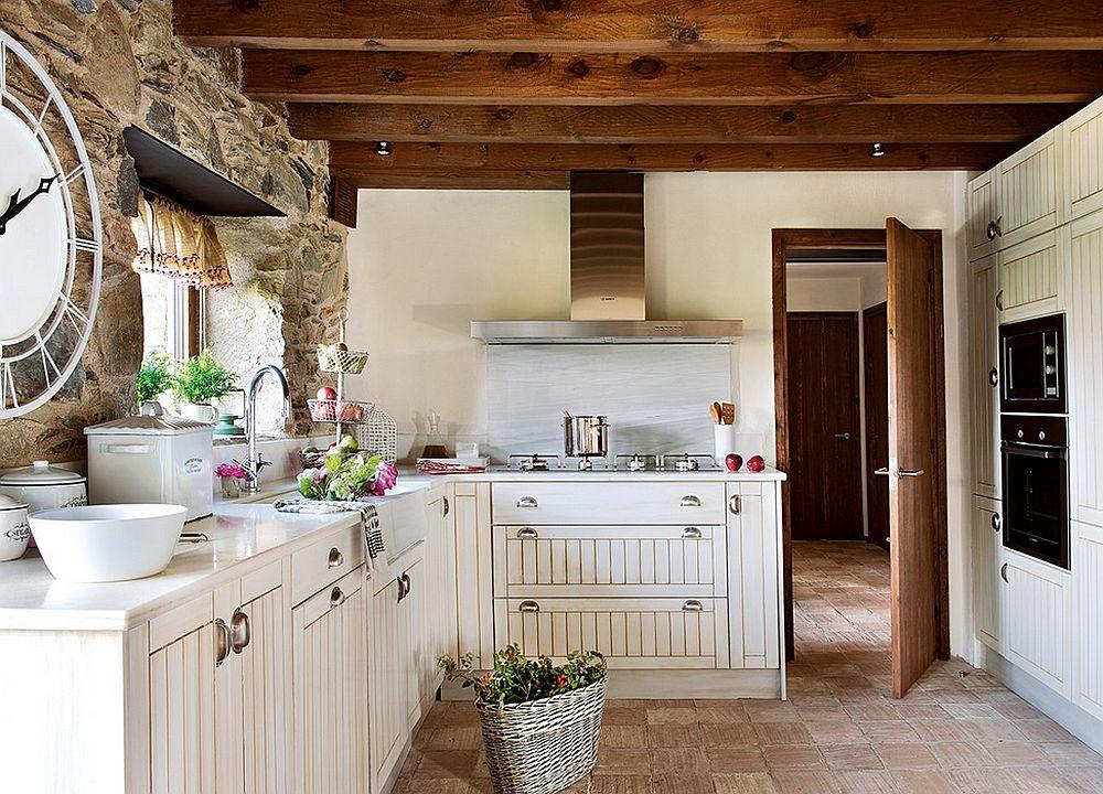 adelaparvu.com despre casa rustica cu elemente industriale, design interior Elena Lopez Balselles, Foto ElMueble (12)