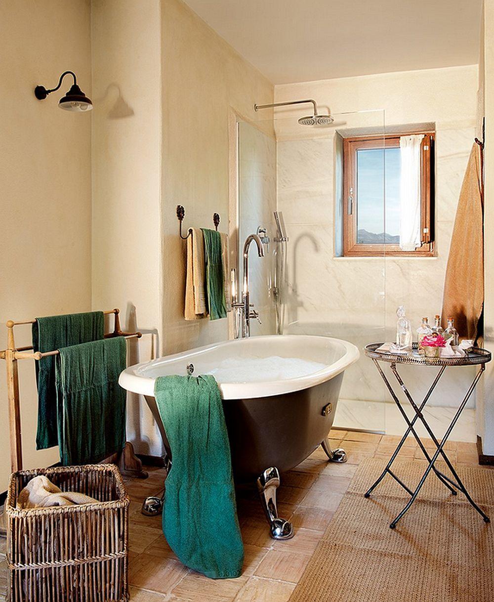 adelaparvu.com despre casa rustica cu elemente industriale, design interior Elena Lopez Balselles, Foto ElMueble (18)