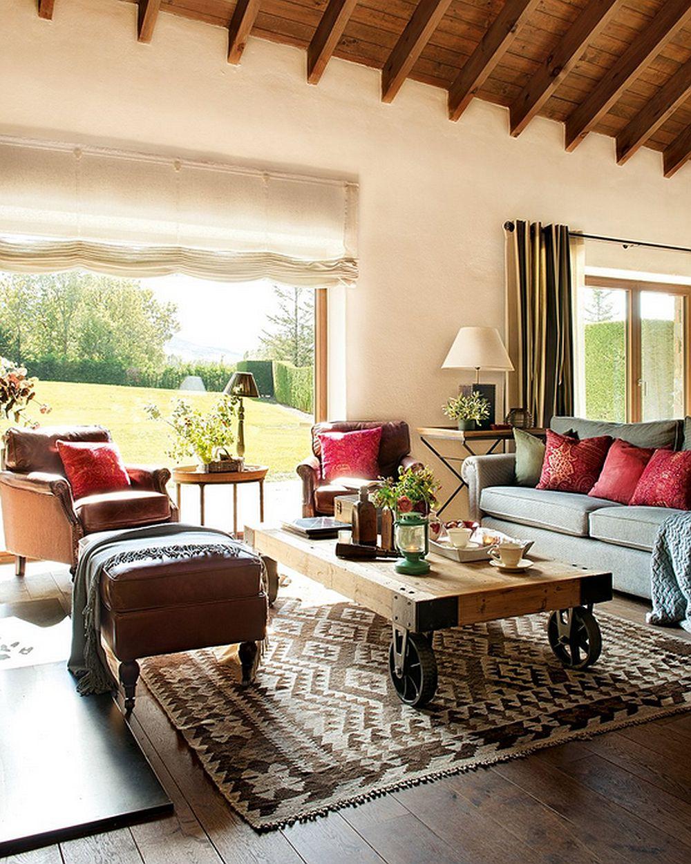 adelaparvu.com despre casa rustica cu elemente industriale, design interior Elena Lopez Balselles, Foto ElMueble (2)