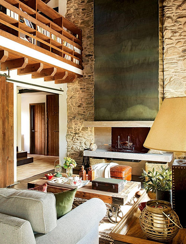 adelaparvu.com despre casa rustica cu elemente industriale, design interior Elena Lopez Balselles, Foto ElMueble (4)