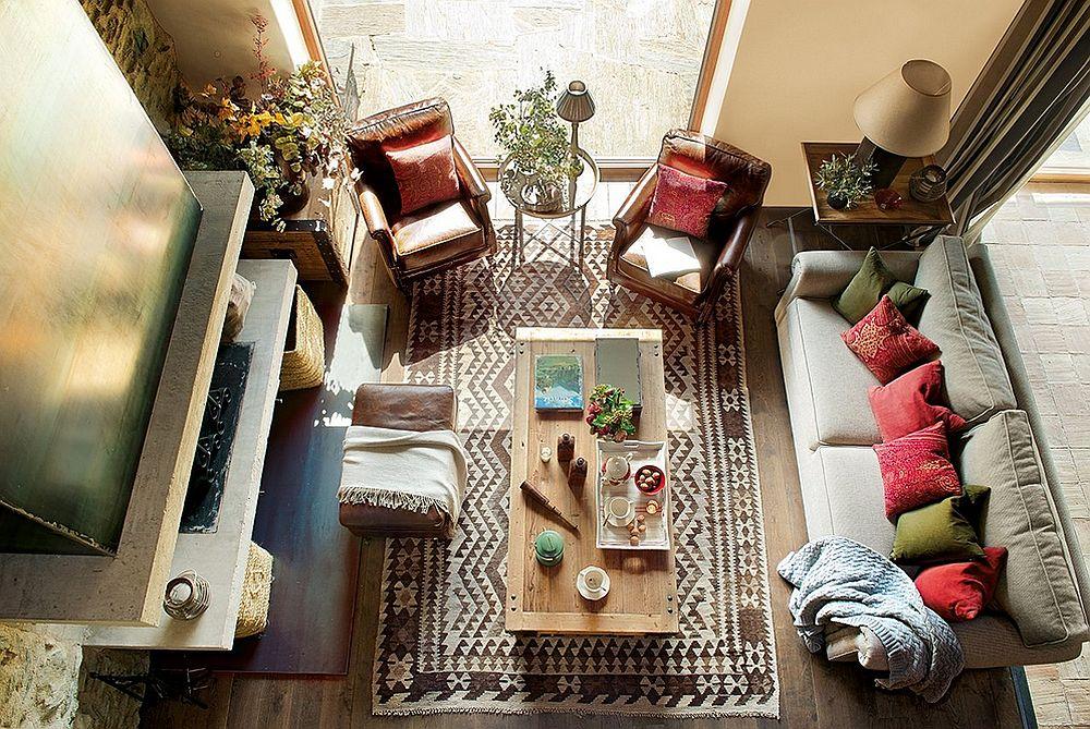 adelaparvu.com despre casa rustica cu elemente industriale, design interior Elena Lopez Balselles, Foto ElMueble (6)