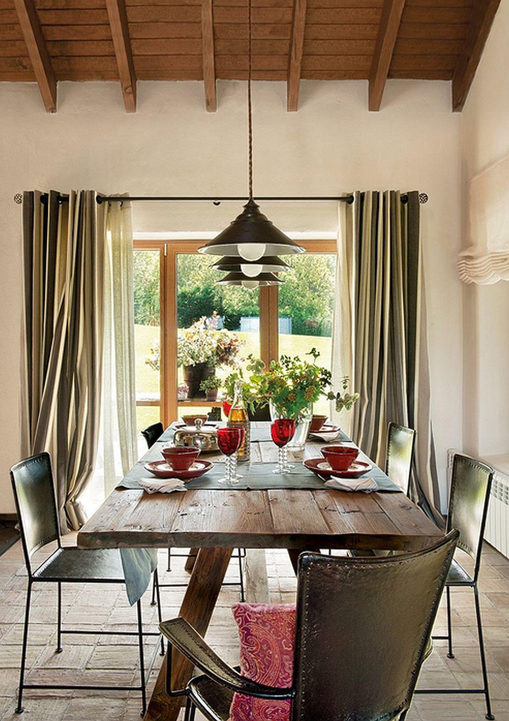 adelaparvu.com despre casa rustica cu elemente industriale, design interior Elena Lopez Balselles, Foto ElMueble (8)