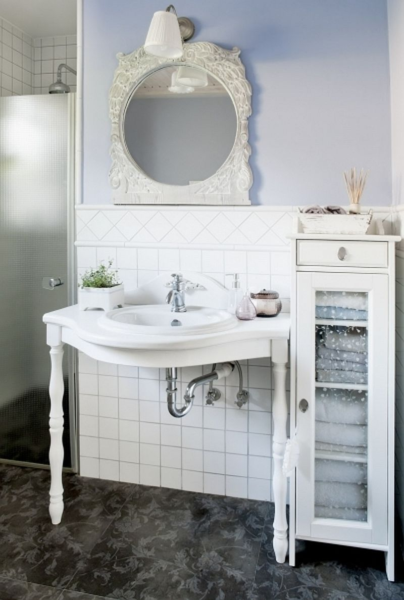 adelaparvu.com despre casa rustica cu interior alb si albastru, Casa Polonia, Foto Rafal Lipski (13)