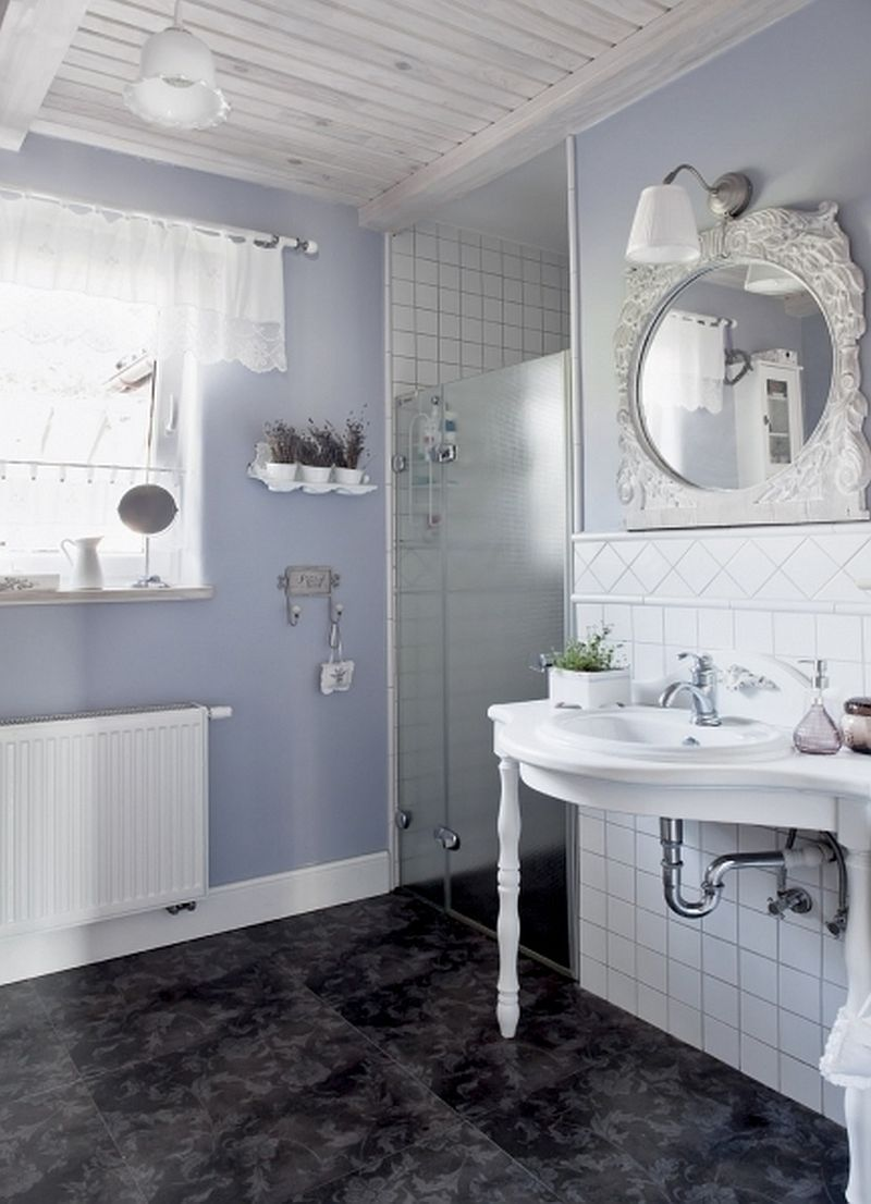 adelaparvu.com despre casa rustica cu interior alb si albastru, Casa Polonia, Foto Rafal Lipski (14)