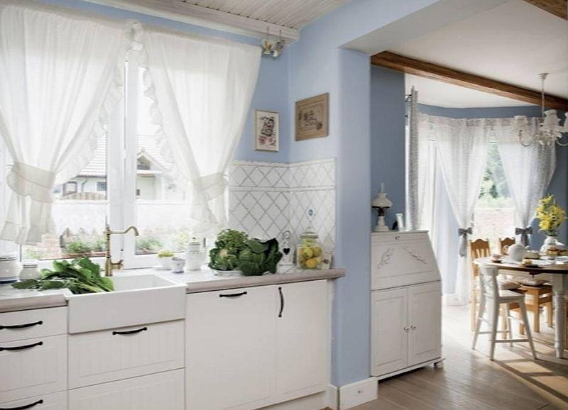adelaparvu.com despre casa rustica cu interior alb si albastru, Casa Polonia, Foto Rafal Lipski (19)