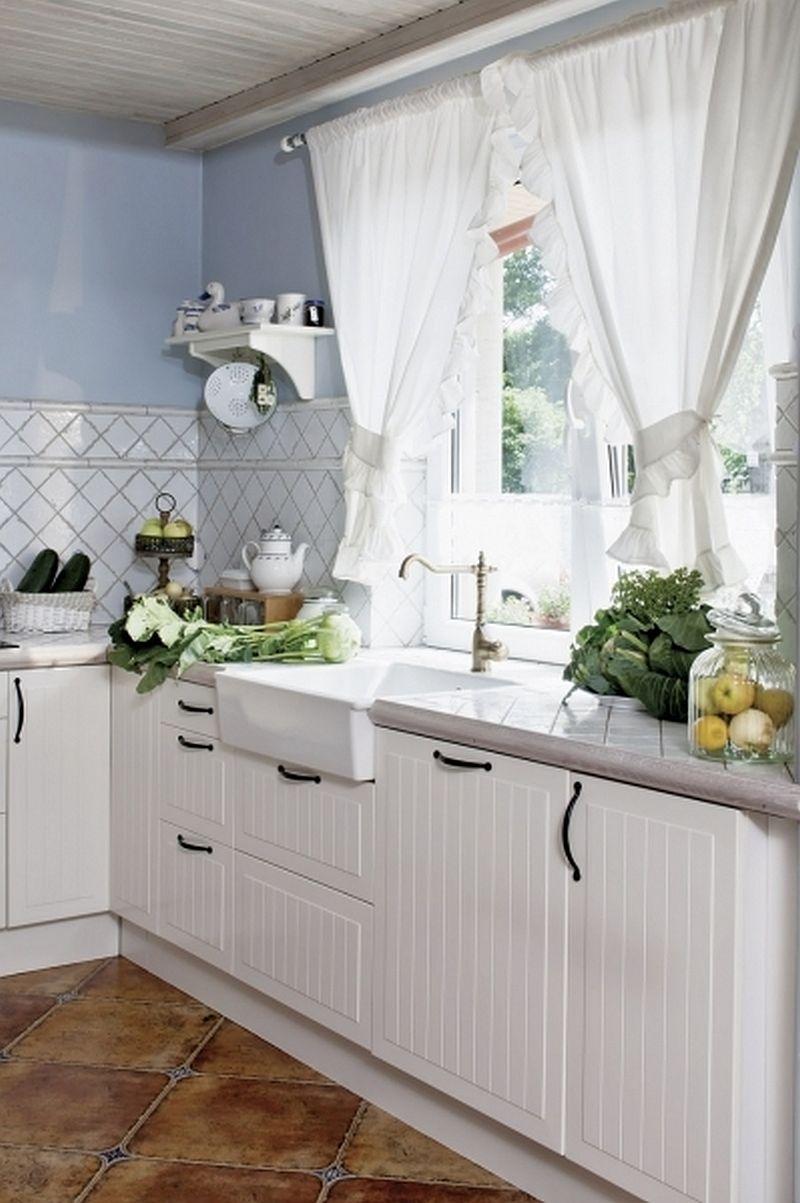 adelaparvu.com despre casa rustica cu interior alb si albastru, Casa Polonia, Foto Rafal Lipski (3)