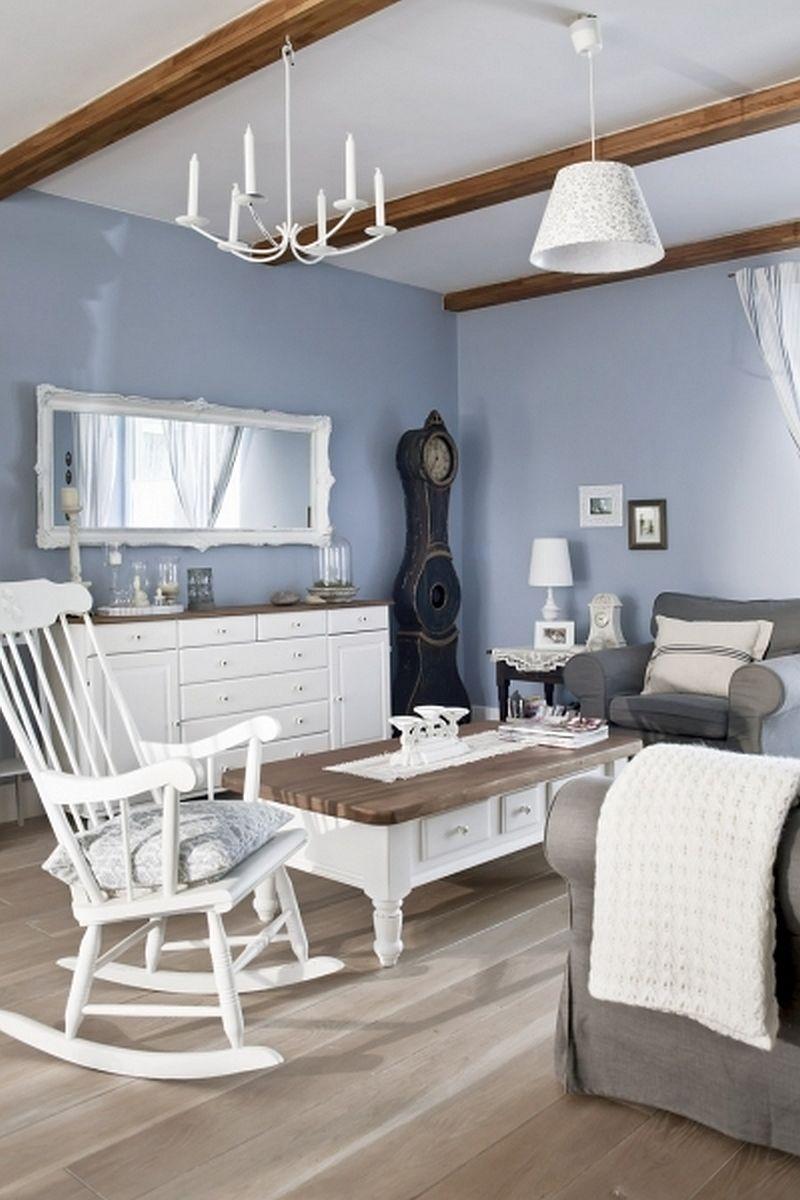 adelaparvu.com despre casa rustica cu interior alb si albastru, Casa Polonia, Foto Rafal Lipski (8)