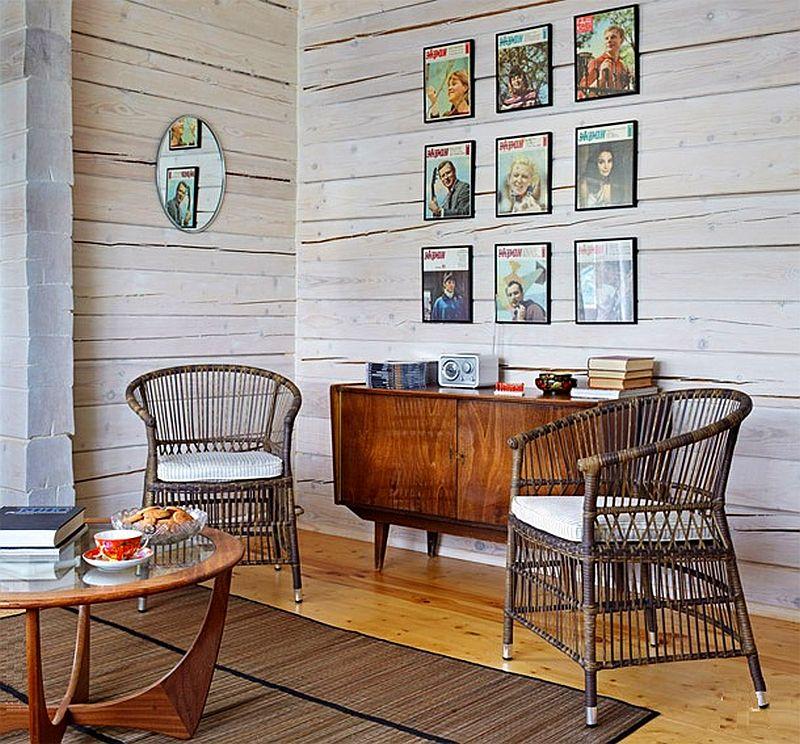 adelaparvu.com despre casa rustica de lemn, design interior  Julia Golavskaya, casa Rusia, foto AD (1)