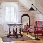adelaparvu.com despre casa rustica de lemn, design interior  Julia Golavskaya, casa Rusia, foto AD (12)