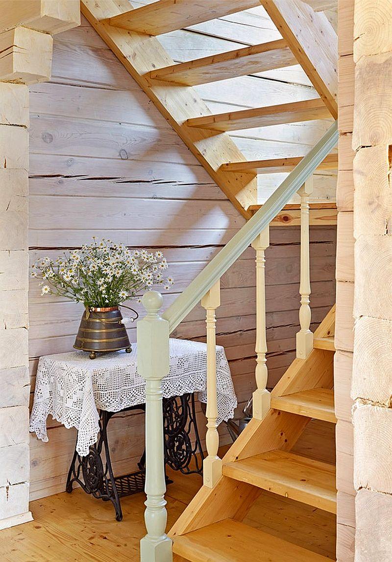 adelaparvu.com despre casa rustica de lemn, design interior  Julia Golavskaya, casa Rusia, foto AD (9)