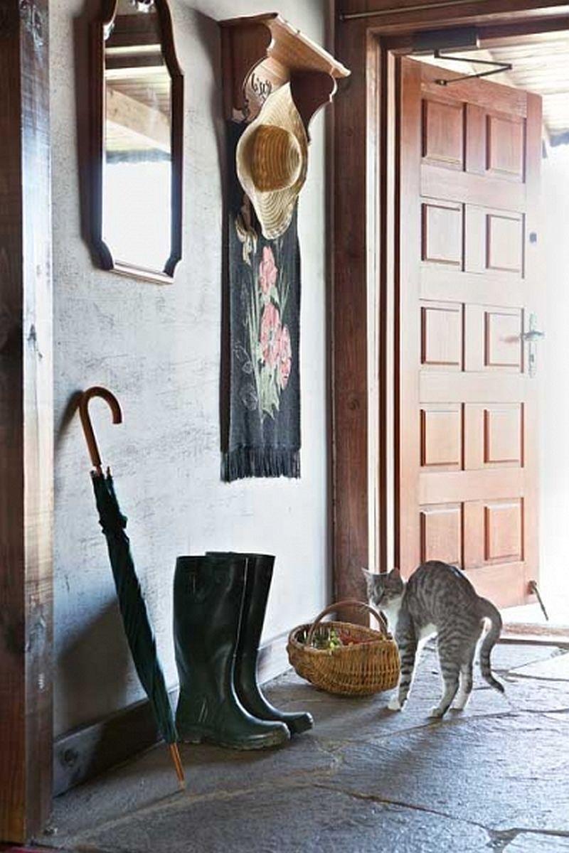adelaparvu.com despre casa rustica din lemn cu interior clasic, casa Polonia, pensiune Stanica Rzeczna (12)