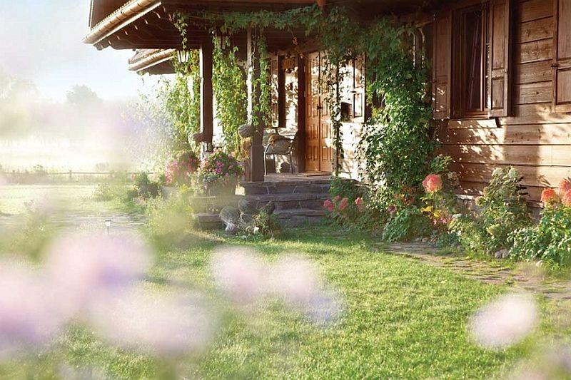 adelaparvu.com despre casa rustica din lemn cu interior clasic, casa Polonia, pensiune Stanica Rzeczna (18)
