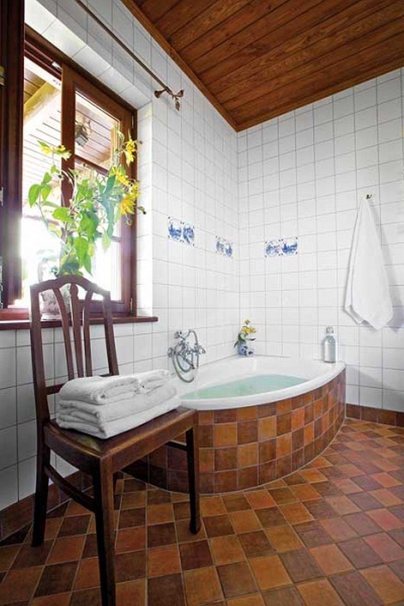 adelaparvu.com despre casa rustica din lemn cu interior clasic, casa Polonia, pensiune Stanica Rzeczna (2)
