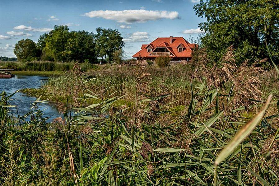 adelaparvu.com despre casa rustica din lemn cu interior clasic, casa Polonia, pensiune Stanica Rzeczna (32)