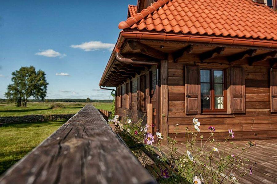 adelaparvu.com despre casa rustica din lemn cu interior clasic, casa Polonia, pensiune Stanica Rzeczna (33)