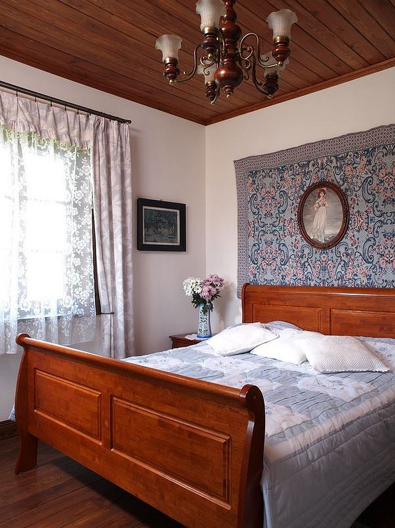 adelaparvu.com despre casa rustica din lemn cu interior clasic, casa Polonia, pensiune Stanica Rzeczna (35)