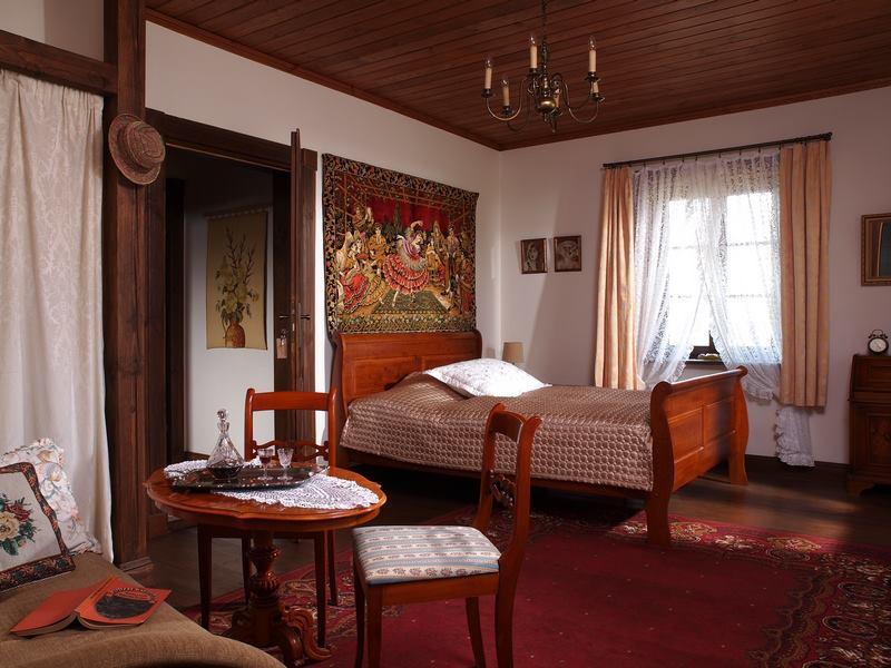 adelaparvu.com despre casa rustica din lemn cu interior clasic, casa Polonia, pensiune Stanica Rzeczna (37)