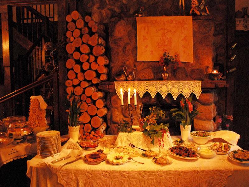 adelaparvu.com despre casa rustica din lemn cu interior clasic, casa Polonia, pensiune Stanica Rzeczna (39)