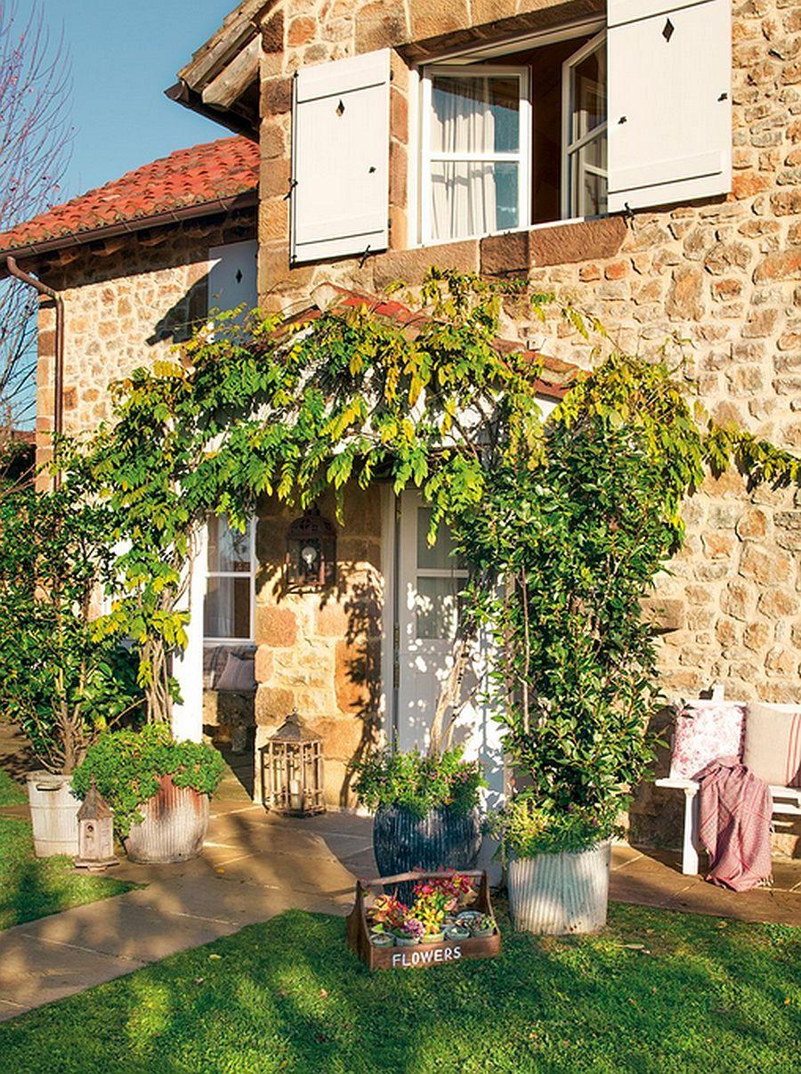 adelaparvu.com despre casa rustica din piatra, casa Spania, Cantabria, Foto ElMueble (1)