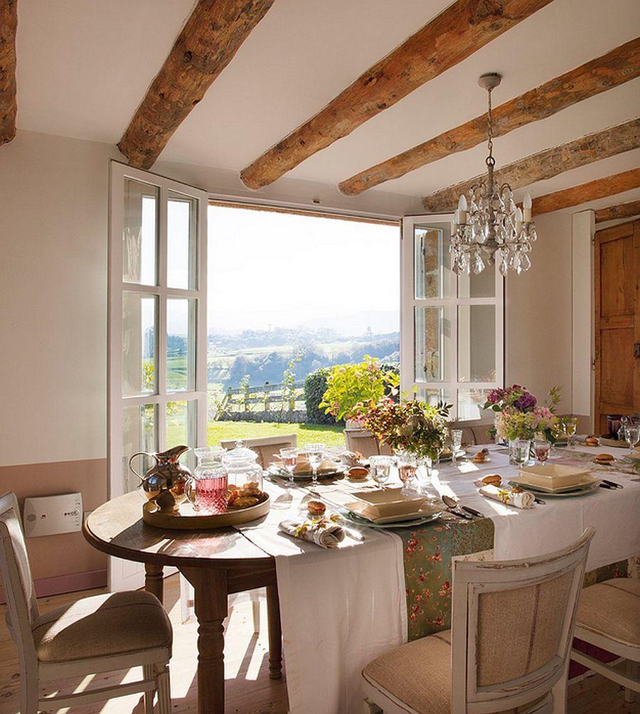 adelaparvu.com despre casa rustica din piatra, casa Spania, Cantabria, Foto ElMueble (10)