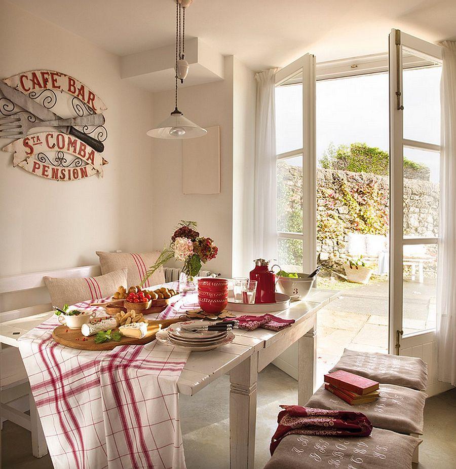 adelaparvu.com despre casa rustica din piatra, casa Spania, Cantabria, Foto ElMueble (11)