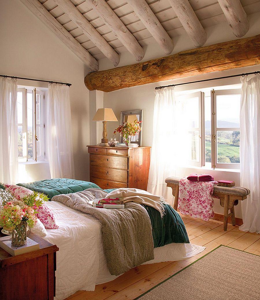 adelaparvu.com despre casa rustica din piatra, casa Spania, Cantabria, Foto ElMueble (14)