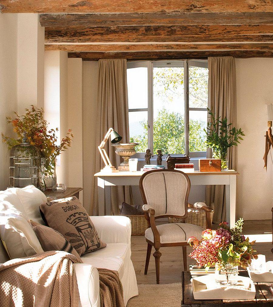 adelaparvu.com despre casa rustica din piatra, casa Spania, Cantabria, Foto ElMueble (5)