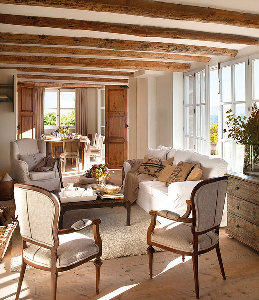 adelaparvu.com despre casa rustica din piatra, casa Spania, Cantabria, Foto ElMueble (6)