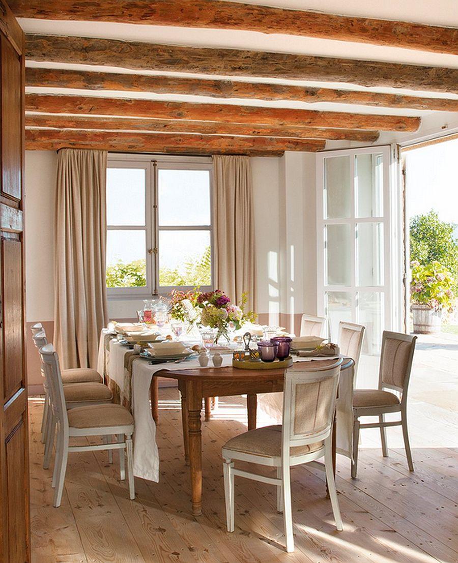 adelaparvu.com despre casa rustica din piatra, casa Spania, Cantabria, Foto ElMueble (8)