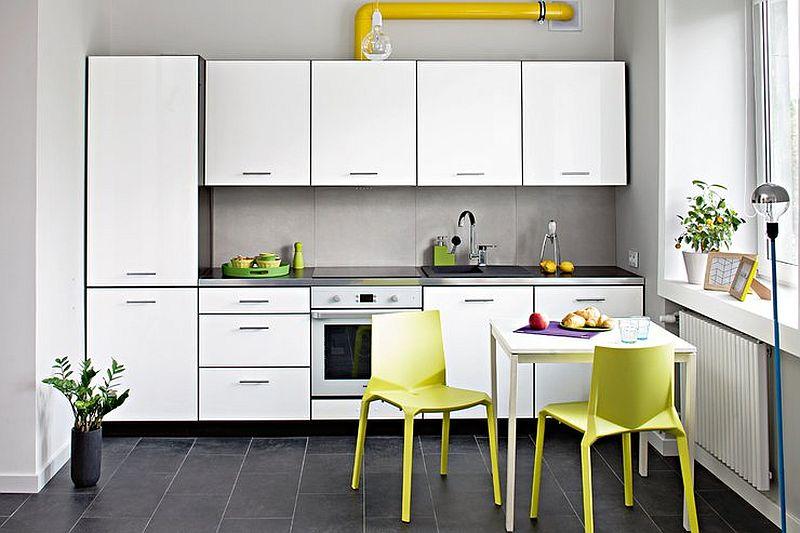 adelaparvu.com despre garsoniera colorata si moderna, design interior Maja Zalewska si Marek Kostykiewicz (8)