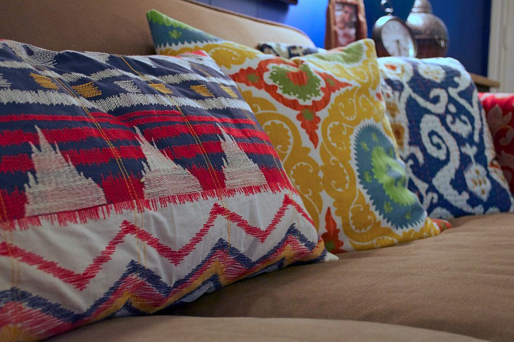 adelaparvu.com despre living colorat in stil eclectic, decorator artista Sarah Greenman (2)