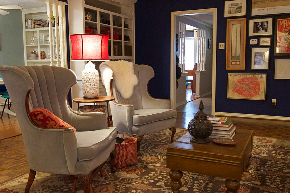 adelaparvu.com despre living colorat in stil eclectic, decorator artista Sarah Greenman (4)