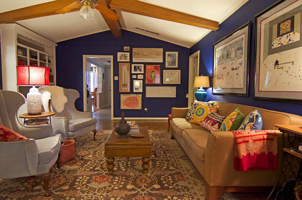 adelaparvu.com despre living colorat in stil eclectic, decorator artista Sarah Greenman (5)
