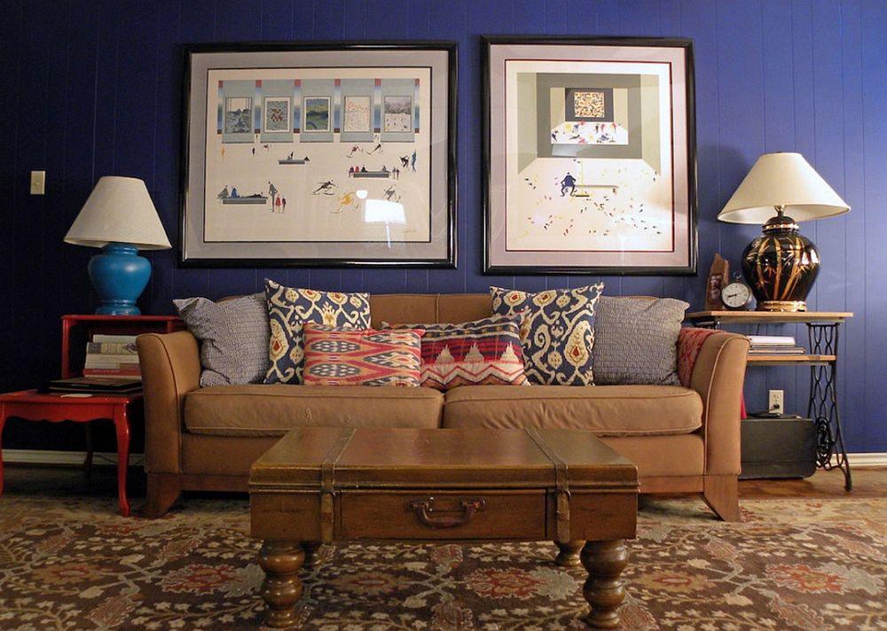 adelaparvu.com despre living colorat in stil eclectic, decorator artista Sarah Greenman (6)