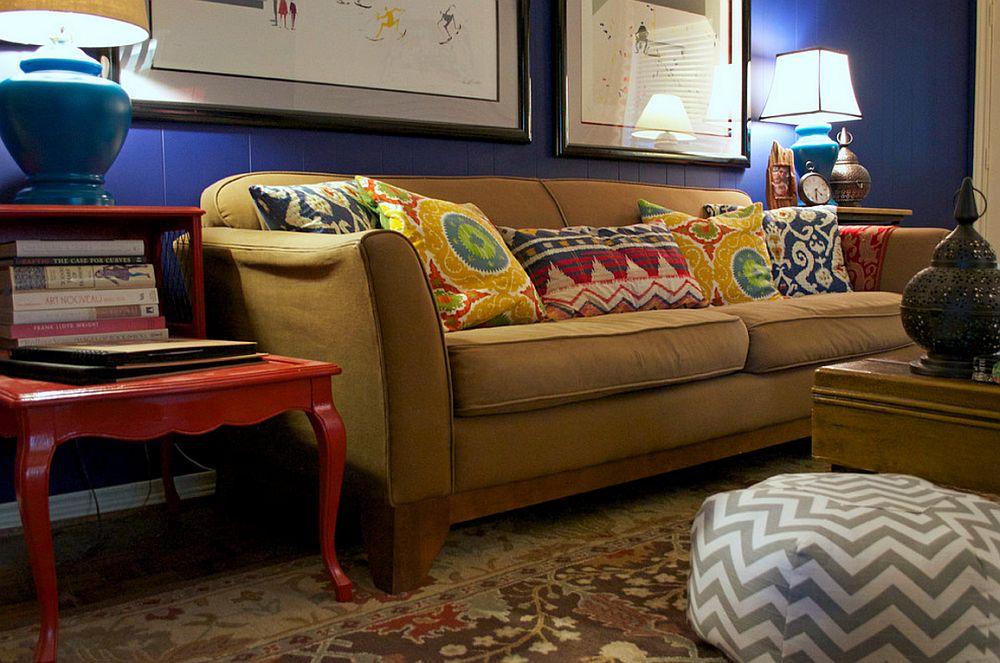 adelaparvu.com despre living colorat in stil eclectic, decorator artista Sarah Greenman (7)