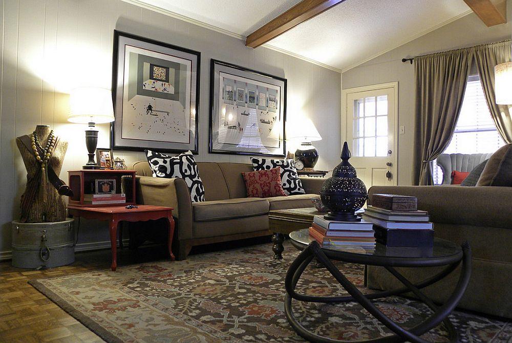adelaparvu.com despre living colorat in stil eclectic, decorator artista Sarah Greenman (8)