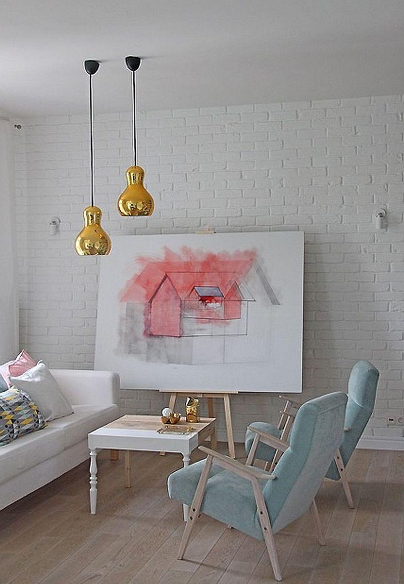 adelaparvu.com despre locuinta de familie in nunte pastelate, design interior  Paulina Swist (12)a