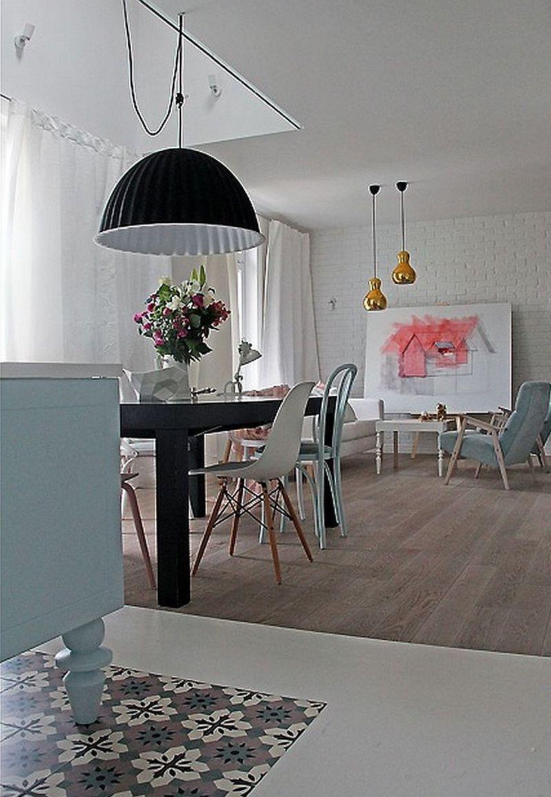 adelaparvu.com despre locuinta de familie in nunte pastelate, design interior  Paulina Swist (12)b