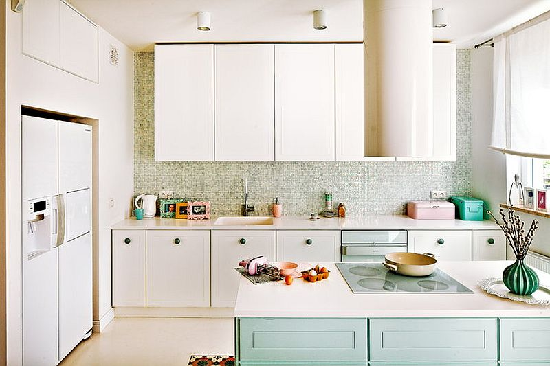 adelaparvu.com despre locuinta de familie in nunte pastelate, design interior  Paulina Swist (6)