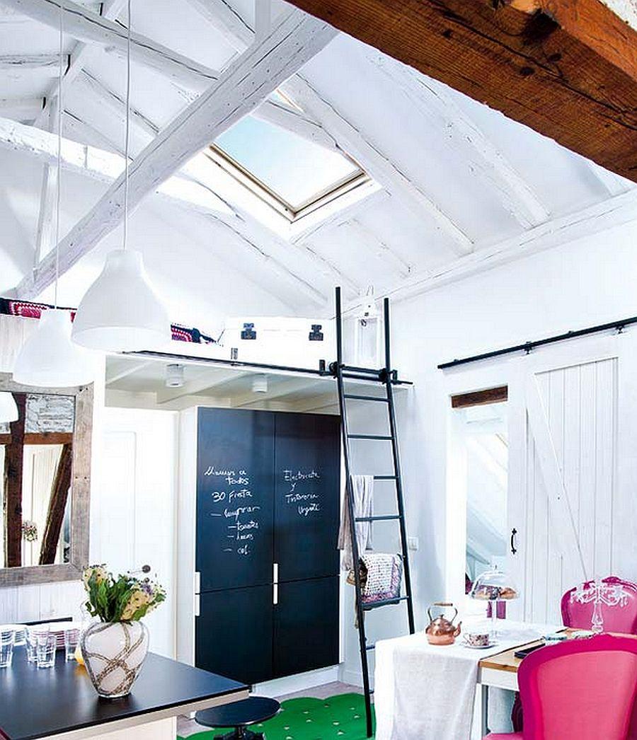 adelaparvu.com despre mansarda boema de 50 mp, design interior Susana Sendin  (11)