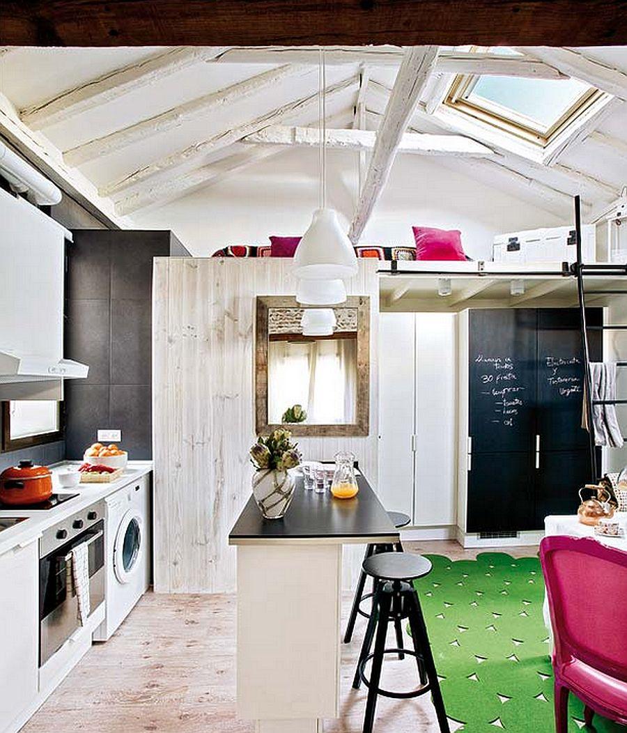 adelaparvu.com despre mansarda boema de 50 mp, design interior Susana Sendin  (8)