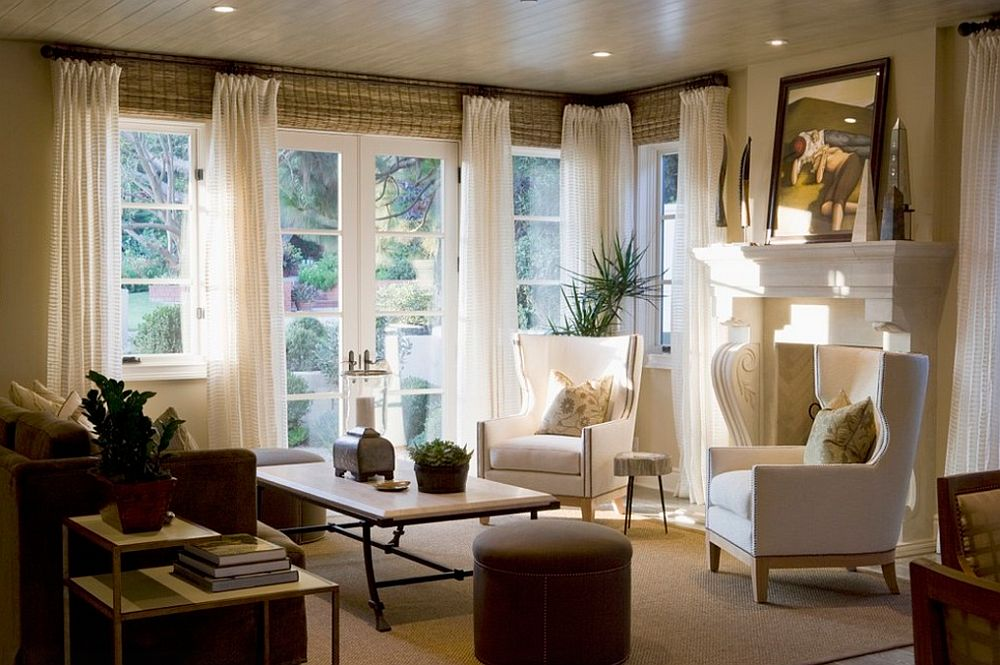 living room window treatment ideas pictures 45 de idei pentru decorul ferestrei combinații de rulouri 25934