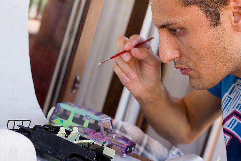 adelaparvu.com despre Bogdan Muscalu artist machete auto (100)