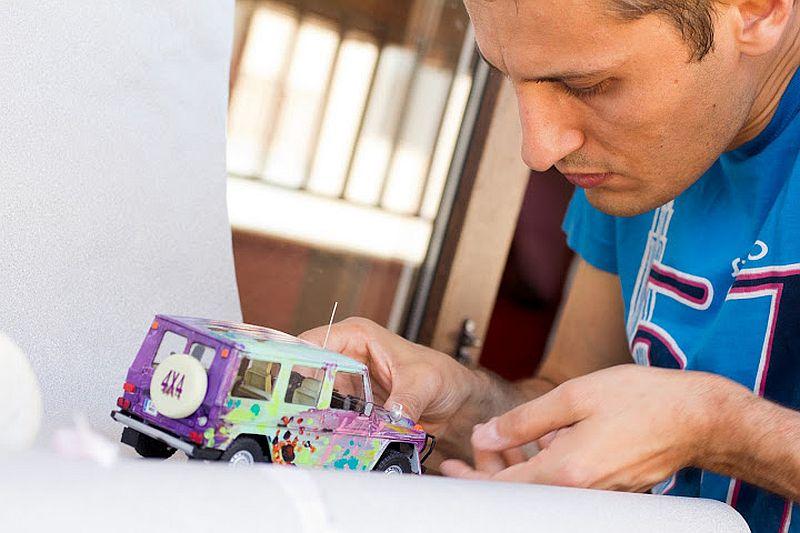 adelaparvu.com despre Bogdan Muscalu artist machete auto (101)