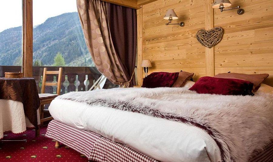 adelaparvu.com despre Hotel les Grands Montets, hotel cu interior rustic Franta (12)