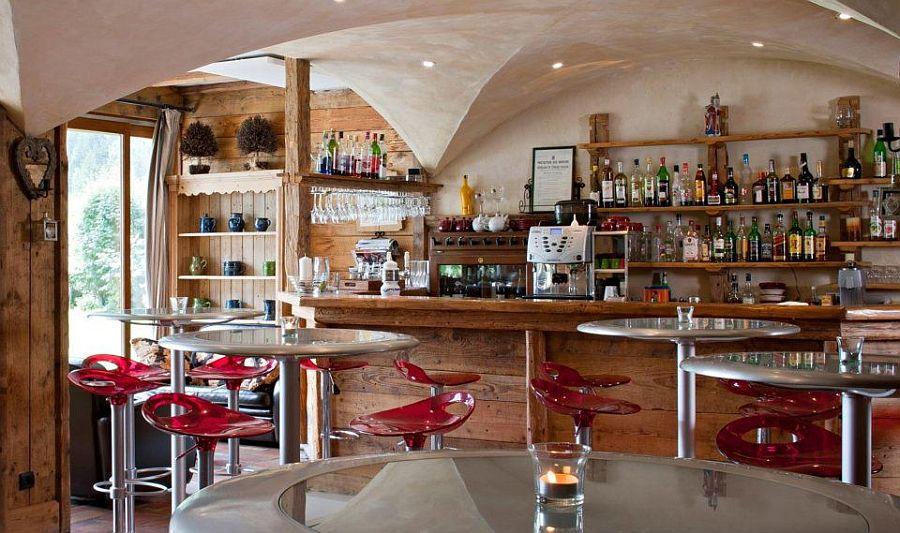 adelaparvu.com despre Hotel les Grands Montets, hotel cu interior rustic Franta (4)