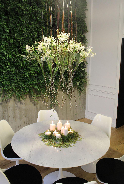adelaparvu.com despre Nicu Bocancea designer florist castigator al concursului Flower Fusion aranjament masa de Craciun 2014 (2)