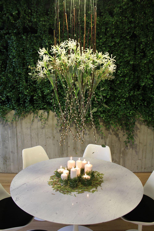 adelaparvu.com despre Nicu Bocancea designer florist castigator al concursului Flower Fusion aranjament masa de Craciun 2014 (4)